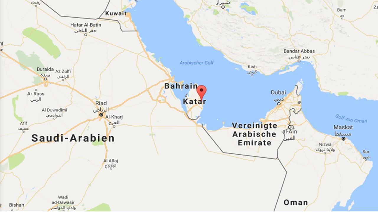 Karte Anzeigen.Doha Katar In World Map Karte Von Doha Katar Auf Der