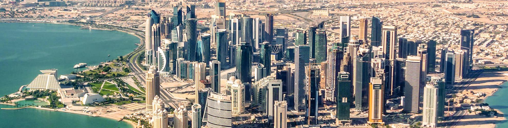 Doha Karte Welt.Doha Katar In World Map Karte Von Doha Katar Auf Der